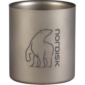 Nordisk Kubek tytanowy podwójna ścianka 220 ml